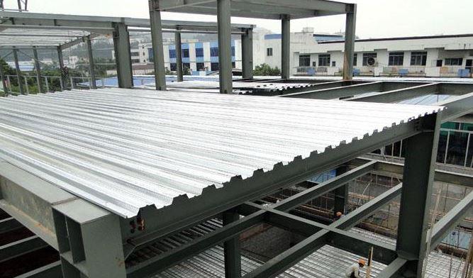 فواید سقف عرشه فولادی