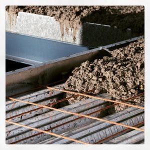 بتن ریزی سقف عرشه فولادی
