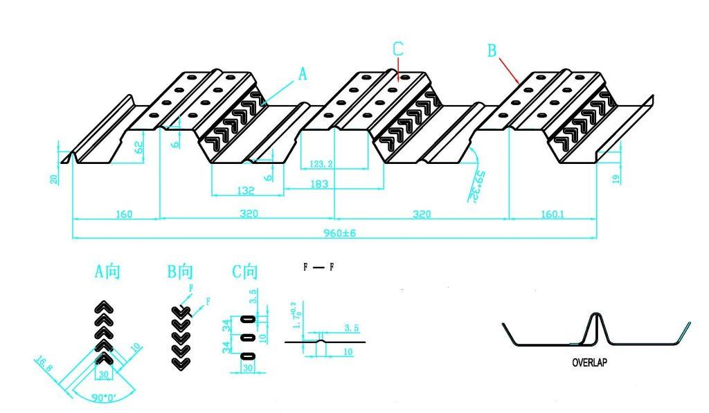 مزایای سقف عرشه فولادی