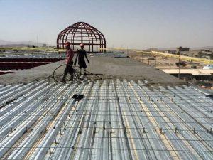 قیمت اجرای سقف عرشه فولادی