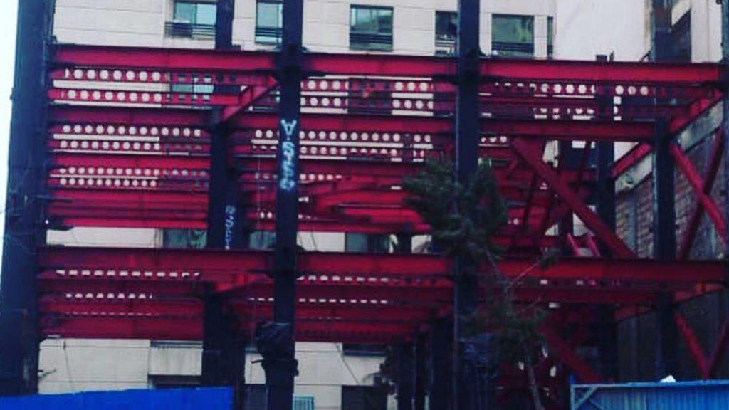 2 7 - سقف عرشه فولادی پروژه رحیمی سعادت آباد