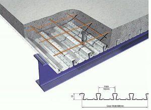 دیتیل اجرایی سقف عرشه فولادی